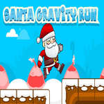 Santa Gravity Run game