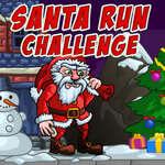 Desafío De Santa Run juego