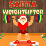 Santa Weightlifter game