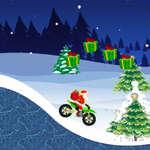 игра Санта Подарочная гонка