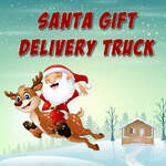 Santa darčekové doručovacie vozidlo hra