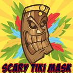 Scary Tiki Mask Memory game