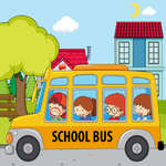 School Bus Differences game