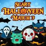 Scary Halloween Match 3 game