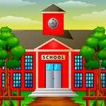 Iskolai fun különbségek játék