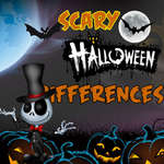 Scary Halloween Differences game