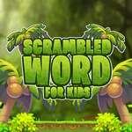 игра Scrambled Слово для детей