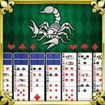 Skorpion Solitär Spiel
