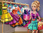 Sery College Dolly Dress Up H5 game