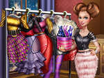 Sery Magazine Dolly Dress Up H5 game