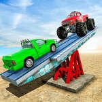 SeeSaw Ramp Car Balance Driving Challenge game