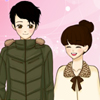 Shoujo Manga Valentine paar dress up Spiel