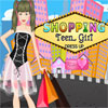 Shopping Girl adolescente vestire gioco