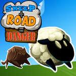 Sheep Road Danger game