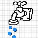 Форма на водата игра
