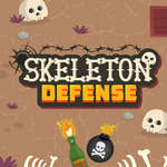 Skeleton Defense game
