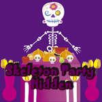 Skelett-Party versteckt Spiel