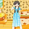 Sleepy girl dress up game