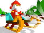 Sliding Santa game