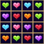 Sliding Hearts Match 3 gioco