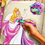 Sleepy Princess Coloring Book game