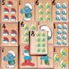 Smurfen klassiek Mahjong spel