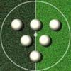 Snooker-Fußball Spiel