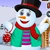 Sneh muž Veselé Vianoce hra