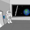 Подъл в пространството игра