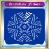 Snehová vločka továreň hra