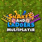 игра Змея и лестницы многопользовательской