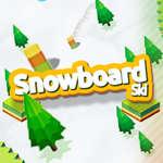 Snowboard Ski spel