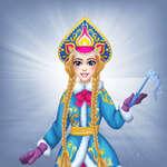 Snegurochka Rus Buz Prensesi oyunu