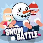 игра Снежная битва