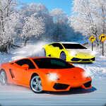 Сняг писта състезания 3D игра