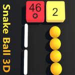 Snake Ball 3D game