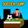 Fußball-Sprung Spiel