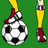 Futbol oyuncu oyun renklendirme
