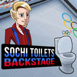 Sochi Toilets Backstage game