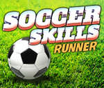 Soccer Skills Runner game