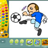 Sport kleurplaten spel