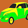 Speedy taxi coloring game
