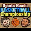 Sport teste campionato di pallacanestro gioco