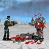 Ruimte SWAT vs Zombies spel