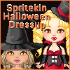 Spritekins Halloween Dressup game