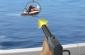 Barca cu motor de fotografiere joc