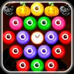 Spookachtige Bubble Shooter spel