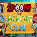 Spooky Memory Card game