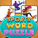 Sports Word Puzzle game