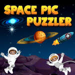 Space Pic Puzzler game